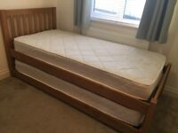 John Lewis Gemini Single bed with guest bed