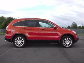 HONDA CRV EXEC AUTO ---WOW ITS DUAL FUEL-- LPG AND PETROL = 40MPG!!! plus panoramic sunroof