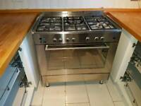 DèLonghi 90cm range cooker