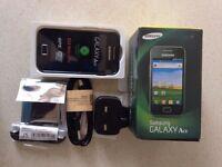 Samsung Galaxy Ace GT-S5830 - Onyx Black o2 Smartphone