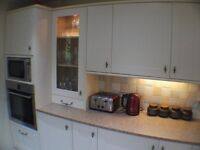 Kitchen (Howdens) + solid granite tops, Bosch Oven & Hob, Fitted:- fridge, dishwasher & microwave: :