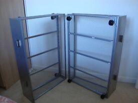 underbed storage units x 2