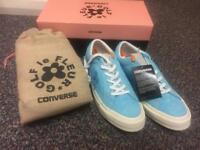 Blue Converse X Tyler Golf Le Fleur Shoes (Size 7)