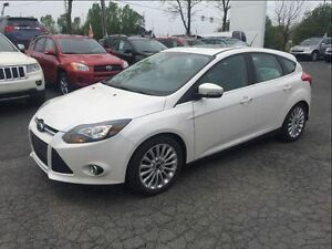 2012 Ford Focus TITANIUM + NAVIGATION + CUIR + BLUETOOTH
