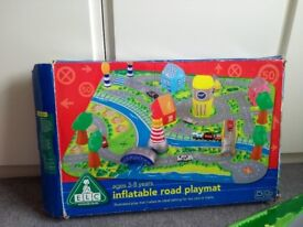 Early learning centre inflatable car mat