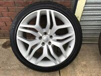 Range Rover Sport 22 Inch, Alloy Wheels & Tyres (Genuine)