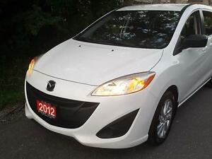 2012 Mazda Mazda5 GS Auto ,Pearl white,SHARP,loaded,Certified$97