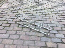 5 Bike Bicycle Garage Storage Stand Rack Holder Mount to Floor or Wall