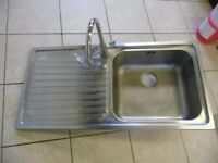 Frank Stainless Steel Sink and Tap