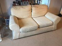 Free 2 and 3 seater beige couches