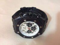 New Audemars Piguet AP Royal Oak offshore Black Case Automatic Watch, RUBBER STRAP