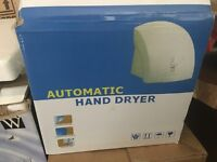Hand air dryer walk mountable toilet wc bathroom