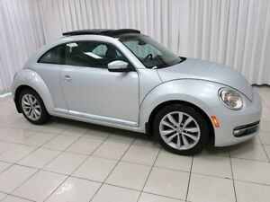 2013 Volkswagen Beetle VW CERTIFIED! TDI 6-Speed! Sunroof! Low K
