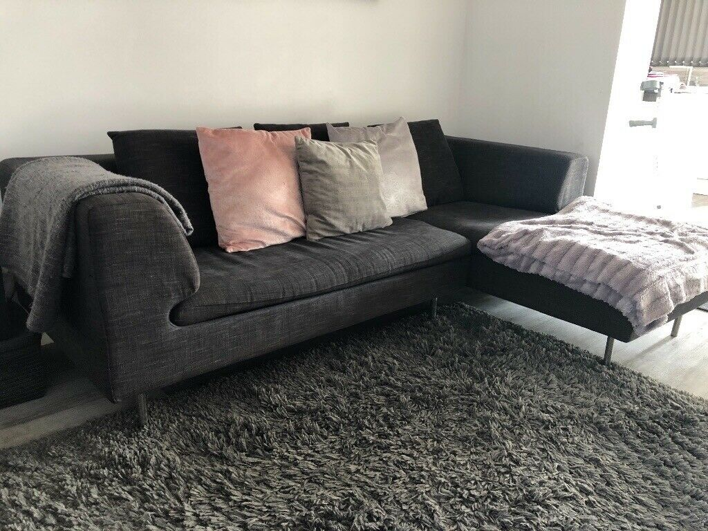 Surprising Dwell Dark Grey Corner Sofa In Plymouth Devon Gumtree Ocoug Best Dining Table And Chair Ideas Images Ocougorg