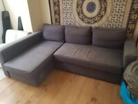 For Sale: Large Grey IKEA corner sofa / sofa bed