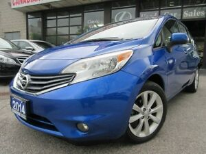 2014 Nissan Versa 1.6 SL-NAVIGATION-CAMERA-TECH-PKG