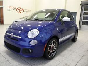 2012 Fiat 500 * SPORT * MAN * CUIR * MAGS * IMPECCABLE *