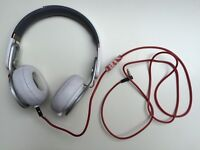 Beats Mixr headphones by Dr. Dre - White - Headband snapped
