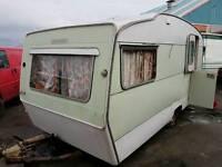 Classic retro caravan needs full restoration