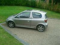 Toyota yaris t sport cat c 121000 miles MOT till may next year 3 owners lady owner
