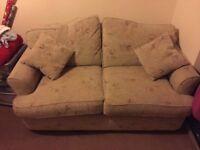Cream/ivory sofa bed