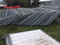 Used heras fencing penal sets.
