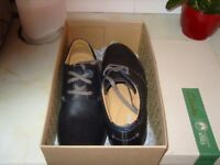 mens black size 11 clarks ronan ride shoes brand new boxed never worn