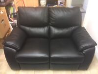 Panther 2 Seater Leather Recliner Sofa