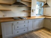 Solid Wood Shaker style kitchen units for sale