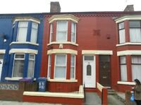 nice 3 bed mid terr with spacious through lounge and kitchen diner, L6 4DP, gch, dg , unfurn