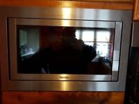 Baumatic Built in Microwave and Grill - Very Good Condition