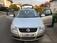 Volkswagen Polo 1.2 Petrol Manual 2009 Long Mot Excellent for Young & New drivers Only 49,000 Miles