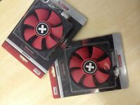 Case fans 120mm x wing red
