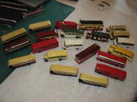 21 die cast vintage buses by EFE oo gauge