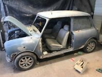 1986 Austin Mini Mayfair 1.0l automatic spares or repair project