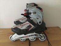 Brooklyn ABEC 7 speed pro 6000 inline roller boots size 8