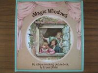 Magic Windows - An antique revolving picture book for Children - by Ernest Nister