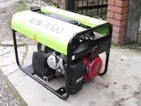 HONDA GX390 6.5 KVA PRAMAC ES8000 GENERATOR **AS NEW - BARGAIN**