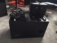 Corsair Sp2500 2.1 Speaker System