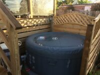Lazy Spa Hot tub with Hydrojets for sale