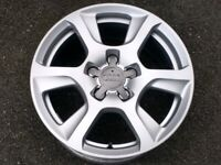 "16"" GENUINE AUDI A3 A4 A6 5x112 FORGED ALLOY WHEEL FULL SIZE SPARE"