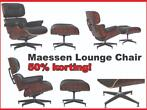 CHEAP!! Maesse lounge chair. Incl ottoman €485 deze week !!!