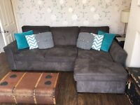 Corner Sofa bed and chair