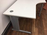 Quality White Corner Office Desk