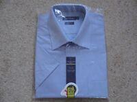 "Taylor & Wright short sleeved shirt - 16 & 1/2"" collar"