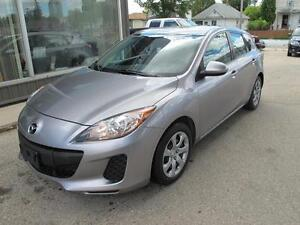2012  Mazda 3 hatchback 4 door 4 cyl  automatic CLEARANCE $8000