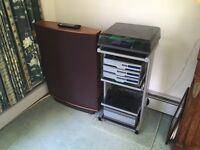 Quad 99 Series Hi Fi, Quad ESL 63 Speakers, Revolver Turntable with Linn Basik LV X Tonearm