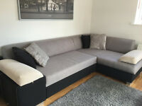 Sofa Bed, Table with 3 Chairs and Single Bed 4 months old barely used