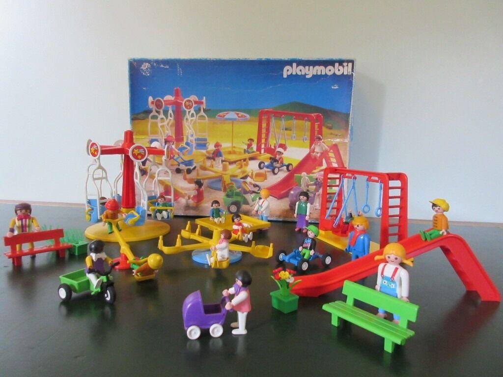 Playmobil Vintage 3223 Playground Set In Barnard