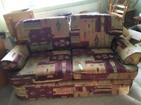 Three seater sofa for sale good condition purchased from Marks and Spencers